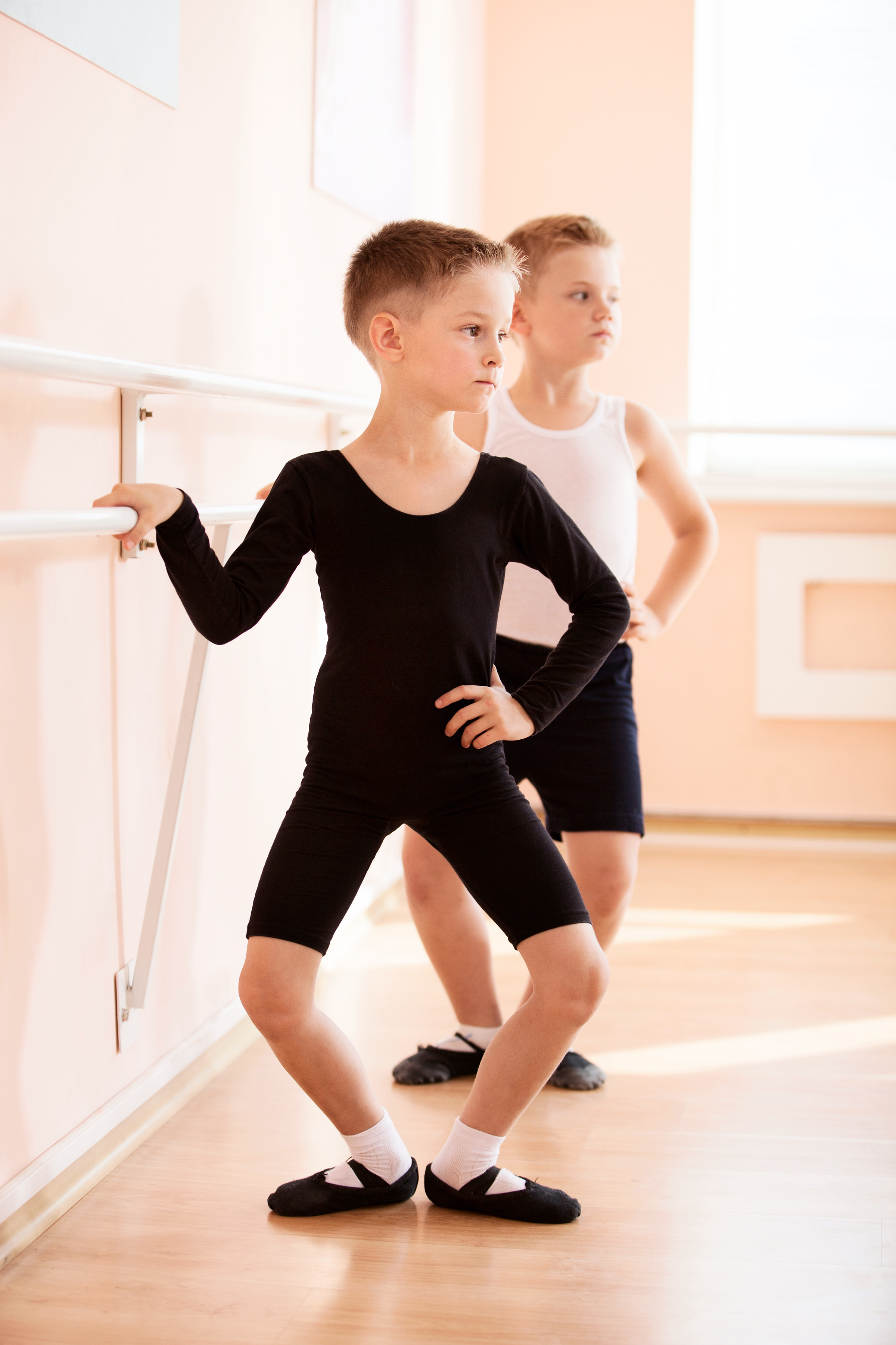 boys ballet training